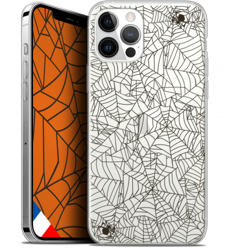 "Carcasa Gel Extra Fina Apple iPhone 12 Pro MAX (6.7"") Halloween Spooky Spider"