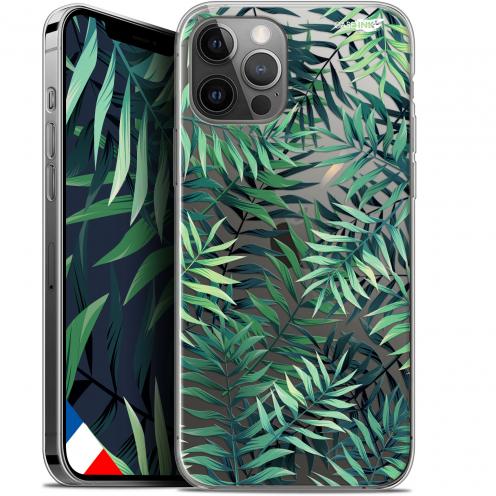 """Carcasa Gel Extra Fina Apple iPhone 12 Pro MAX (6.7"""") Design Feuilles des Tropiques"""