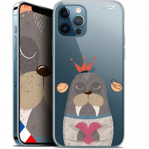 "Carcasa Gel Extra Fina Apple iPhone 12 Pro MAX (6.7"") Design Sketchy Walrus"