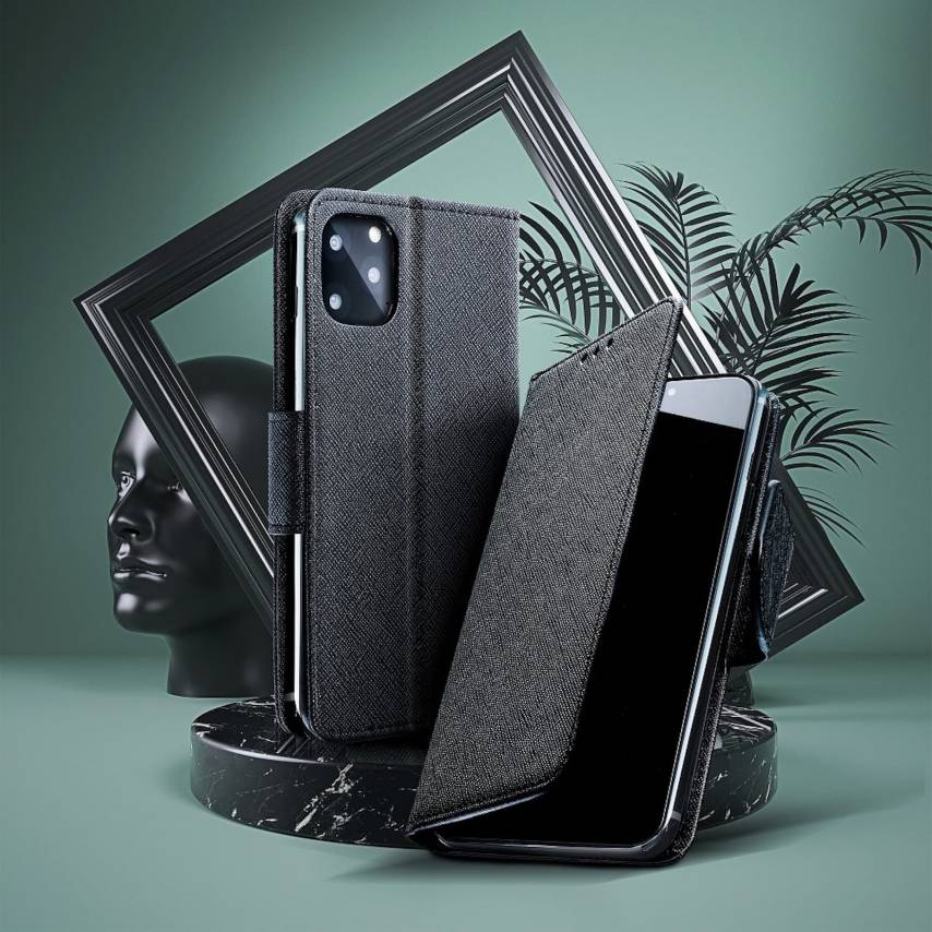 Fancy Book carcasa for Oppo A72 black