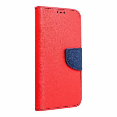 Fancy Book carcasa for Samsung A70E red/navy