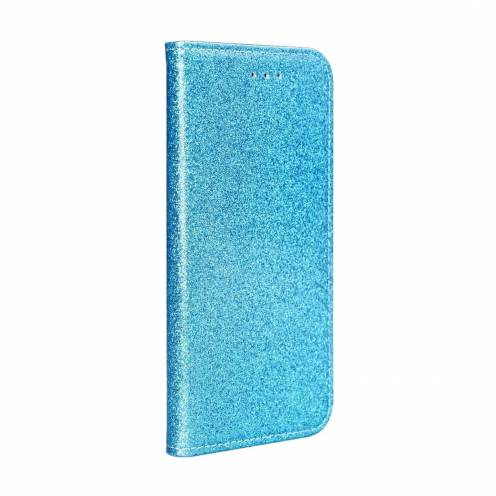 SHINING Book for Samsung A40 light blue