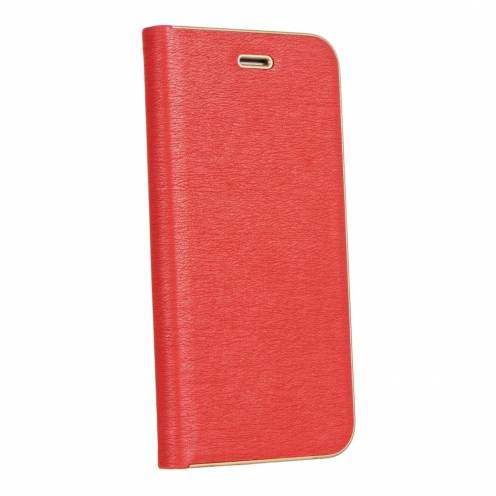Luna Book for Apple iPhone Xs red