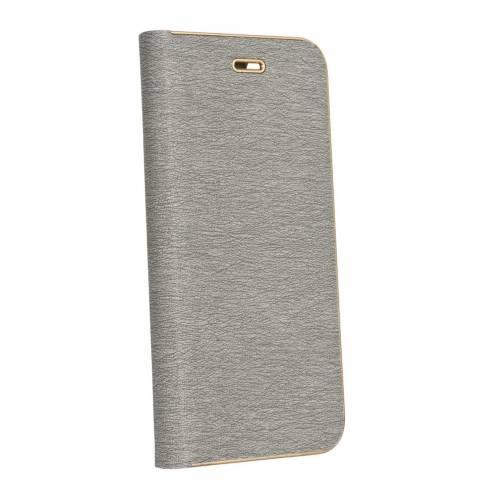 Luna Book for Samsung Galaxy A6 2018 silver