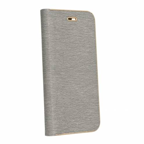 Luna Book for Samsung Galaxy A71 silver
