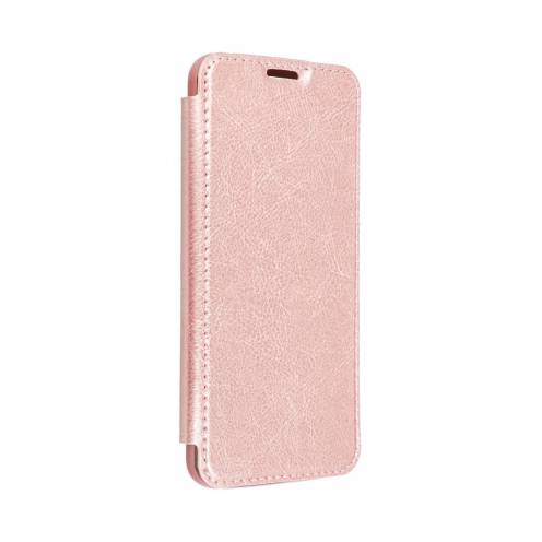 Forcell ELECTRO BOOK carcasa for Samsung A21S rose gold