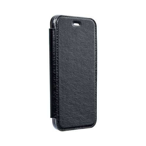 Forcell ELECTRO BOOK carcasa for Samsung A40 black