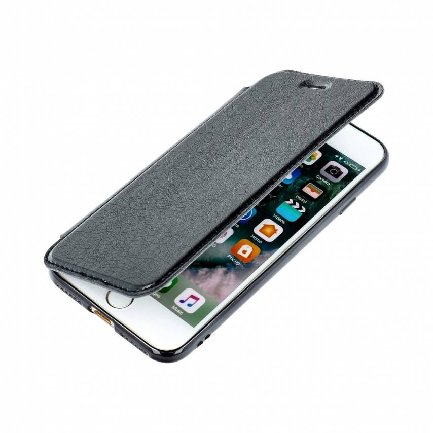 Forcell ELECTRO BOOK carcasa for Samsung A10 black