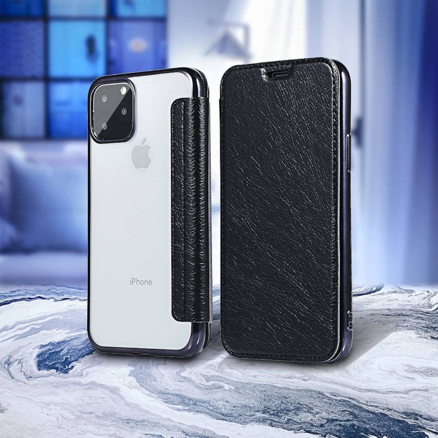Forcell ELECTRO BOOK carcasa for iPhone 7 / 8 / SE 2020 black