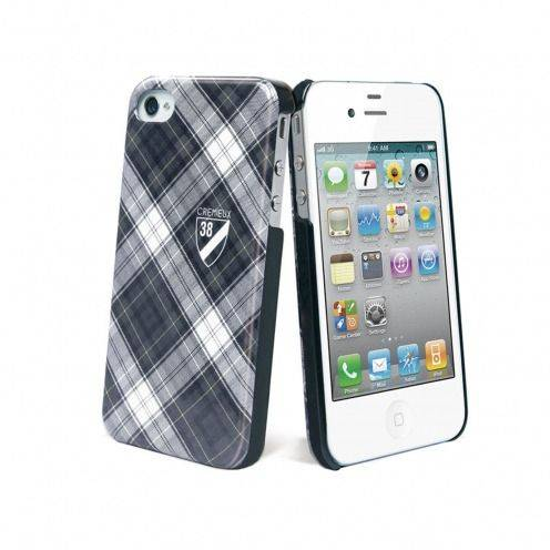 Carcasa Crémieux 38® Fashion Back Negra para iPhone 4S / 4