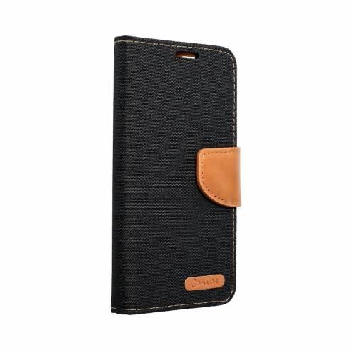 Canvas Book carcasa for Apple iPhone 7 / 8 / SE 2020 Plus black