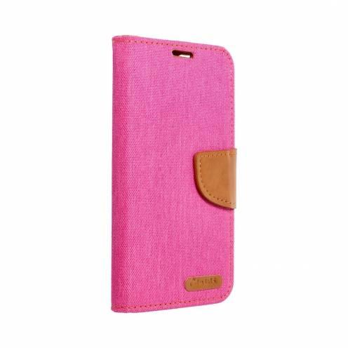 Canvas Book carcasa for Samsung Galaxy J3 2017 pink