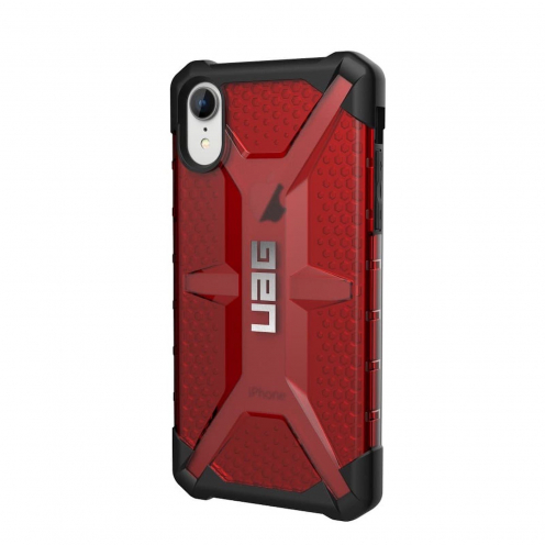 Funda Anti-Golpes iPhone XR Urban Armor Gear® UAG Plasma Rouge / Transparent