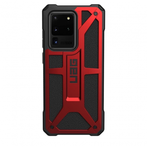 ( UAG ) Urban Armor Gear Monarch case pour Samsung S20 ULTRA Rouge