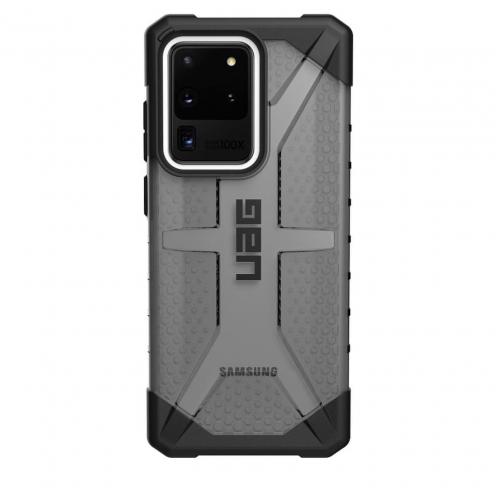 ( UAG ) Urban Armor Gear Plasma case for SAMSUNG S20 ULTRA black transparent