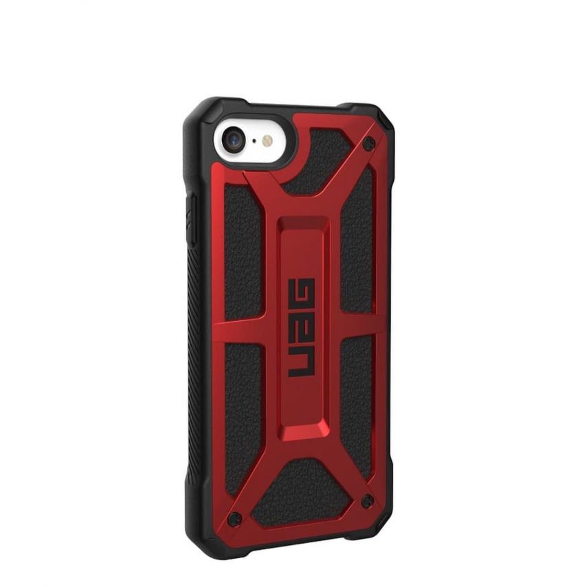 ( UAG ) Urban Armor Gear Monarch pour iPhone 7 / 8 / SE 2020 Rouge
