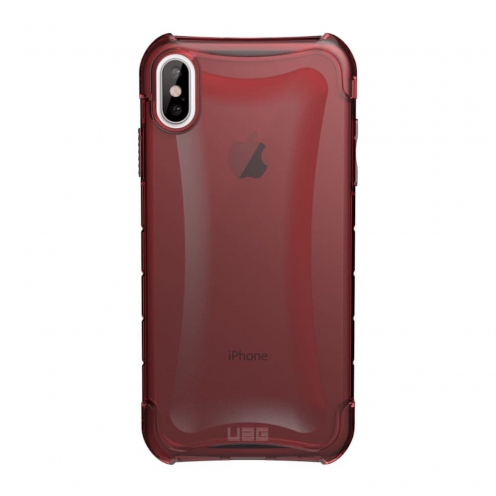 ( UAG ) Urban Armor Gear Plyo for iPhone Xs Max red transparent