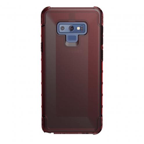 ( UAG ) Urban Armor Gear Plyo for Samsung NOTE 9 red transparent
