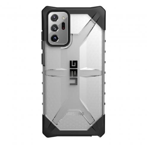 ( UAG ) Urban Armor Gear Plasma for Samsung Note 20 ULTRA black Transparent
