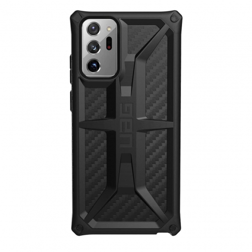Coque ( UAG ) Urban Armor Gear Monarch pour Samsung Note 20 ULTRA carbon fiber