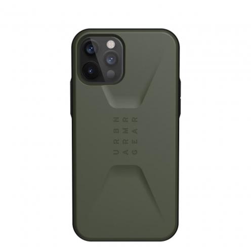 ( UAG ) Urban Armor Gear Civilian for iPhone 12 PRO MAX olive