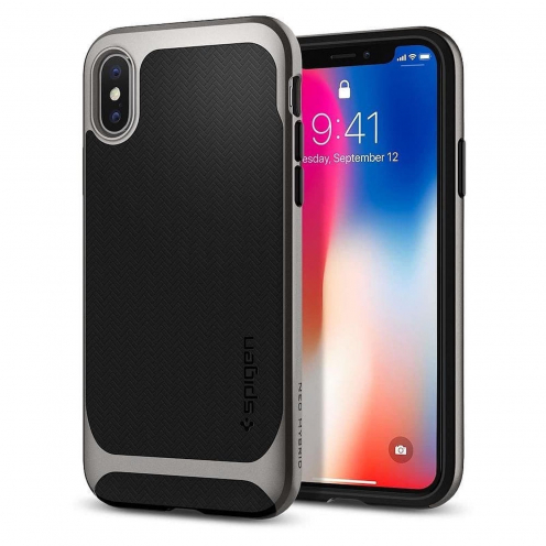 SPIGEN Neo Hybrid for Iphone 7 / 8 gunmetal