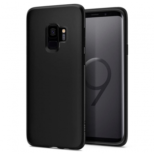 SPIGEN Liquid Crystal SAM S9 matte black
