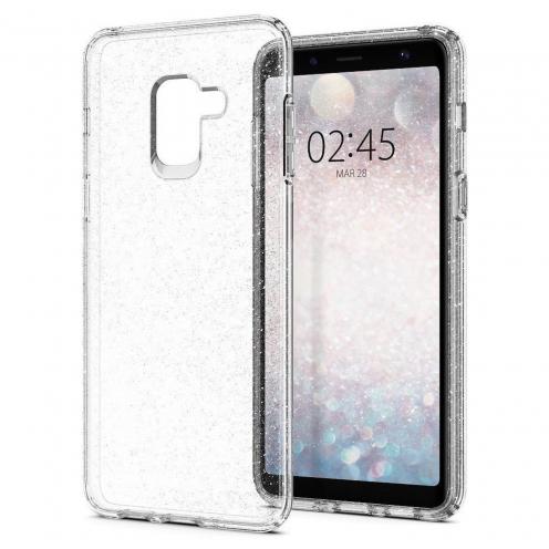 SPIGEN Liquid Crystal SAMSUNG A8 2018 glitter quartz