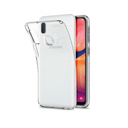SPIGEN Liquid Crystal GALAXY A20E transparent