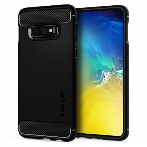 SPIGEN Rugged Armor for SAMSUNG S10 LITE matte black