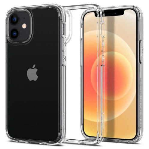 Spigen© Ultra Hybrid for iPhone 12 MINI Transparent