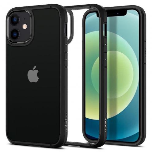 Spigen© Ultra Hybrid for iPhone 12 MINI matte black