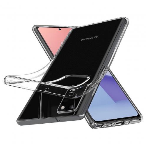 Spigen© Liquid Crystal for Samsung NOTE 20 Transparent