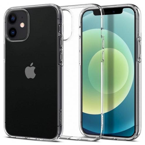 Spigen© Liquid Crystal for iPhone 12 Transparent