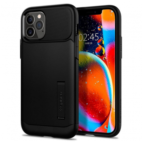 Spigen© Slim Armor for iPhone 12 / 12 PRO black