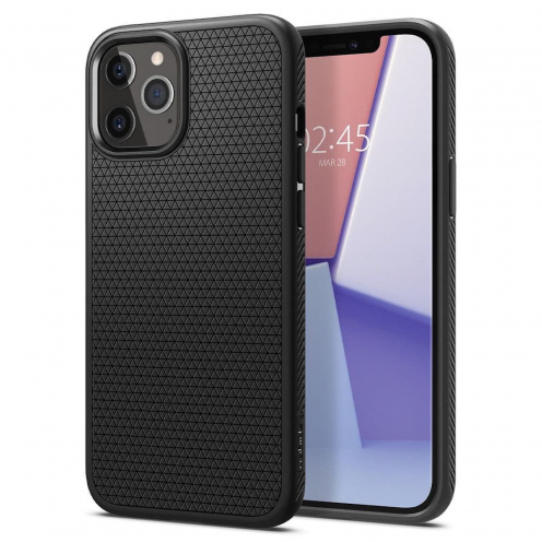 Spigen© Liquid Air do iPhone 12 / 12 PRO matte black