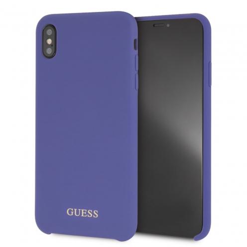 Original faceplate case GUESS GUHCI65LSGLUV iPhone XS Max violet