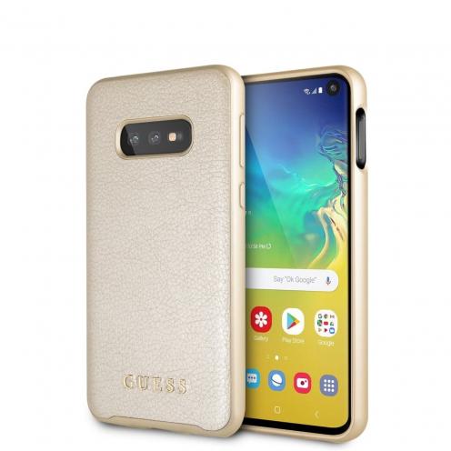 Original faceplate case Guess® GUHCS69IGLGO SAM S20 Ultra gold