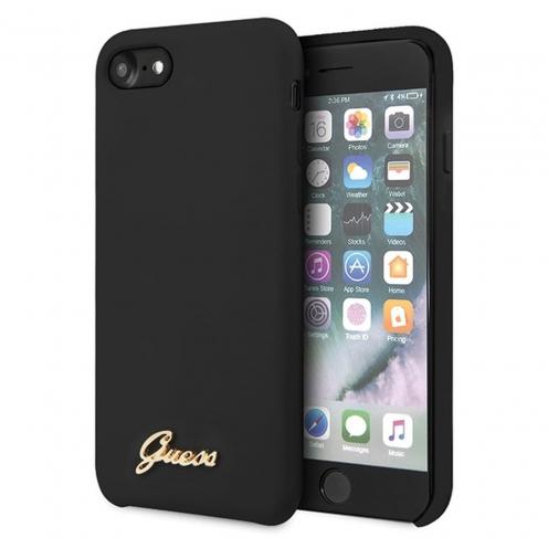 Original faceplate carcasa Guess© GUHCI8LSLMGBK iPhone 7/8 black