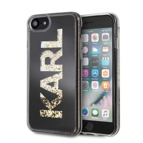 Original faceplate case KARL LAGERFELD KLHCI8KAGBK iPhone 7/8 black
