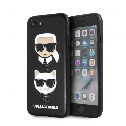 Original faceplate case Karl Lagerfeld® KLHCI8KICKC iPhone 7/8 black