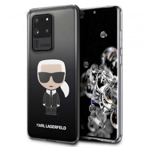 Original faceplate case Karl Lagerfeld® KLHCS69TRDFKBK SAM S20 Ultra czarny