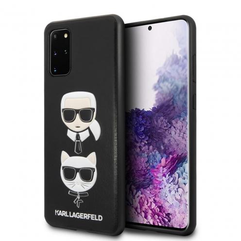 Original faceplate case Karl Lagerfeld® KLHCS67KICKC SAM S20 Plus black