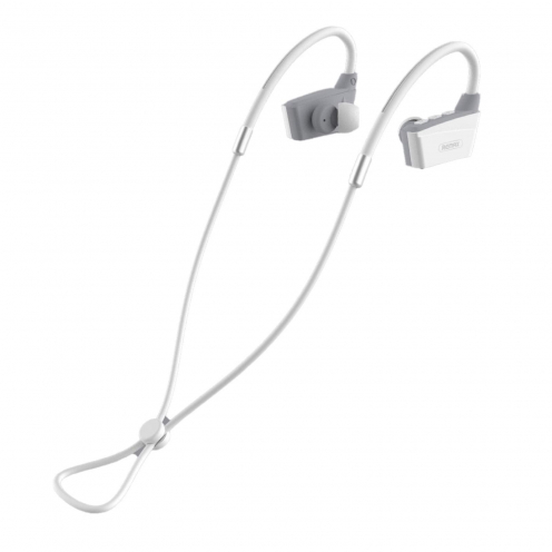 Remax© earphones stereo bluetooth RB-S19 white