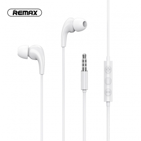 Remax© earphone MUSIC RW-108 white