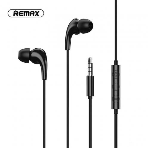 Remax© earphone MUSIC RW-108 black