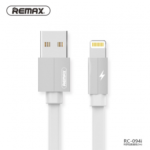 REMAX cable USB for iPhone Lightning Kerolla RC-094i 2m white