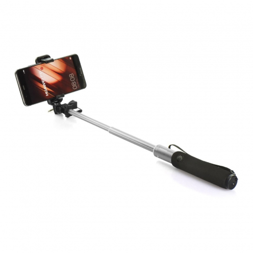 Selfie stick combo Remax P5 jack 3,5mm silver