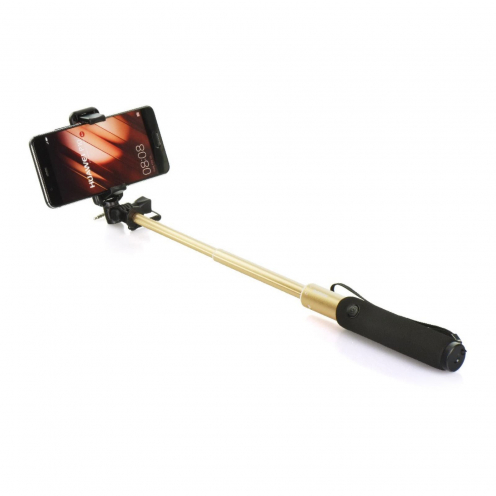 Selfie stick combo Remax P5 jack 3,5mm gold