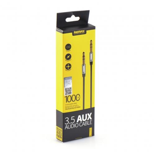 REMAX 3.5mm Aux Jack Cable L100 1m black